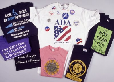 color t-shirts disability history america