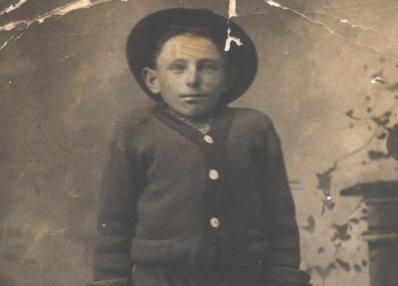 boy sepia photograph disability history america