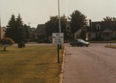 street car color photograph disability history america