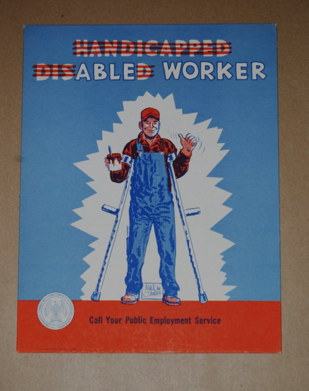 able worker poster disability history america