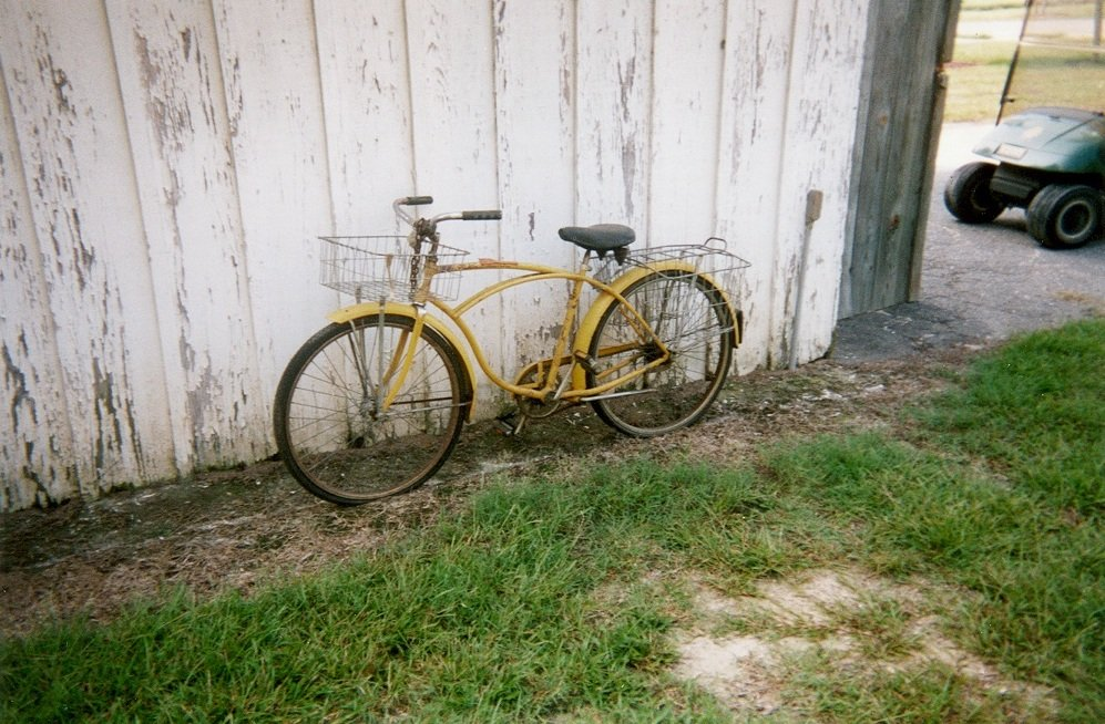 bicycle color photograph disability history america