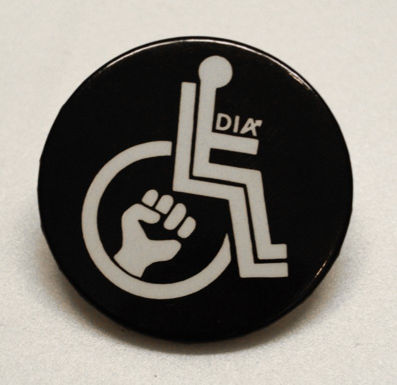 d i a button disability history america