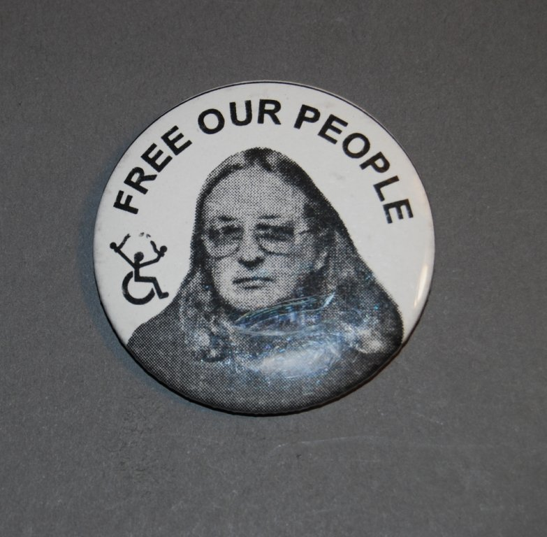 free our people button disability history america