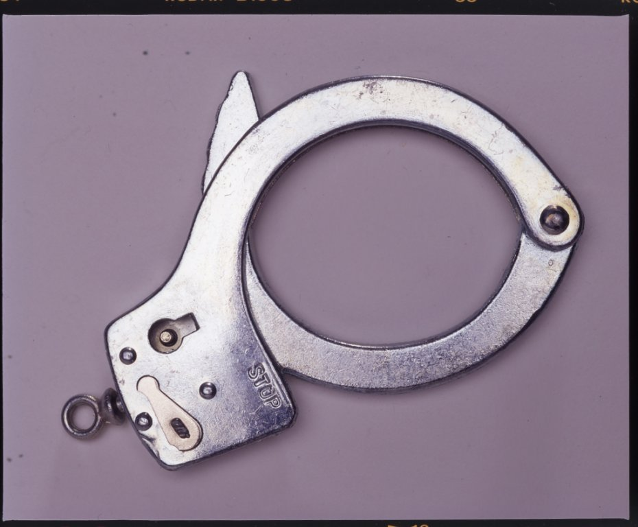 handcuff disability history america