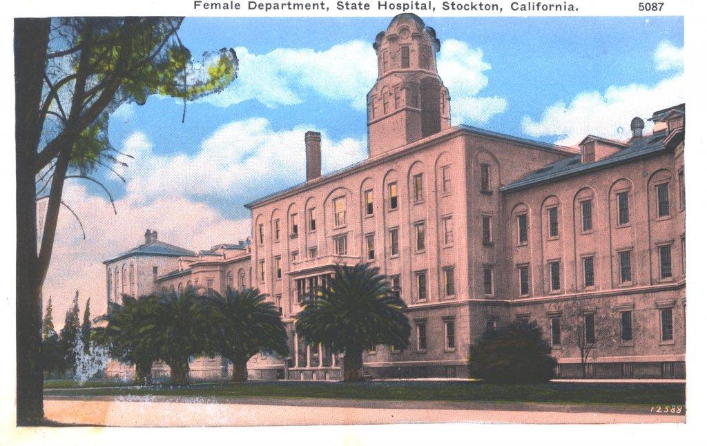 female department California state hospital disability history america
