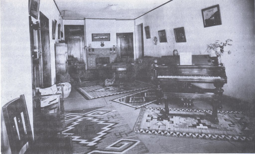 home interior black white photograph disability history america