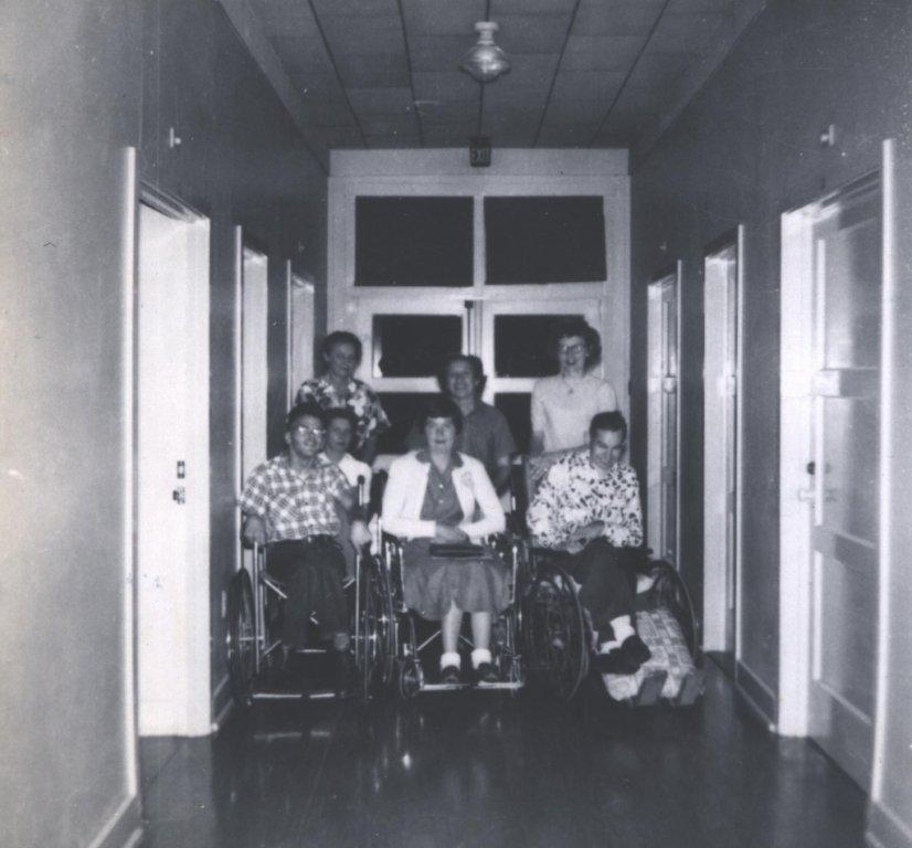 jim gavin students black white photograph disability american history