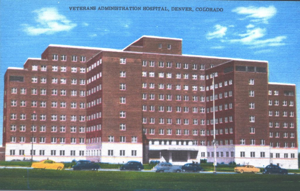 veterans administration hospital color illustration disability history america