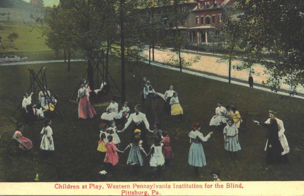 children play color photograph disability history america
