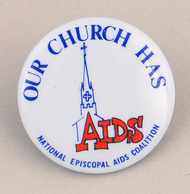 our church has aids button disability america history