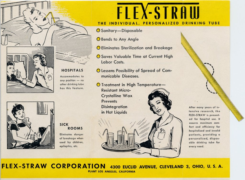 color Ad for flexible straw