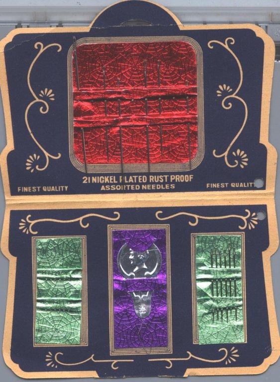card of needles box disability history america