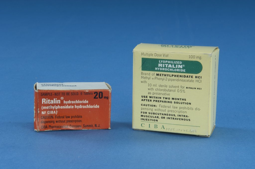 two boxes of ritalin color disability history america