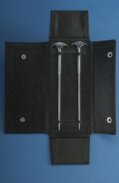 two knives in carrying case disability history america