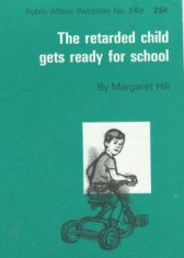 IDEA Law cover illustration retarded child gets ready for school disability america