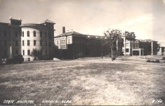 nebraska state hospital black white photograph disability history america
