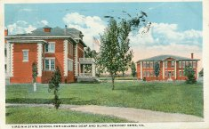 virginia state school for colored deaf and blind color illustration disability history america