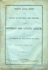 southern ohio asylum worn pamphlet