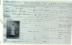 bertha flaten register of applications form disability history america