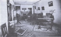 home interior black white photograph disability history america