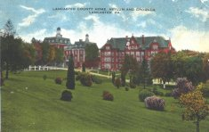 lancaster county home asylum and grounds color illustration disability history america