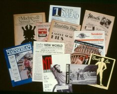 collection of disability magazines