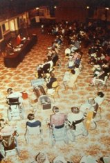 symposium audience color photograph disability history america
