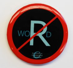 anti r word button color disability history america