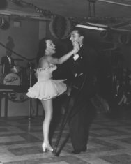 adult female male dance black white photograph disability history america