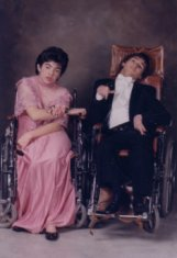 prom couple color photograph disability history america