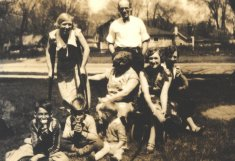 male female generational sepia photograph disability history america