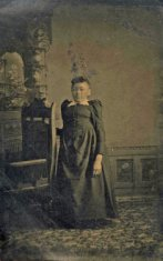 young female portrait sepia photograph disability history america