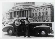 ben minowitz on capitol hill black white photograph disability america