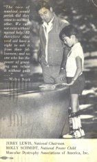 boy and man muscular dystrophy ad disability history america